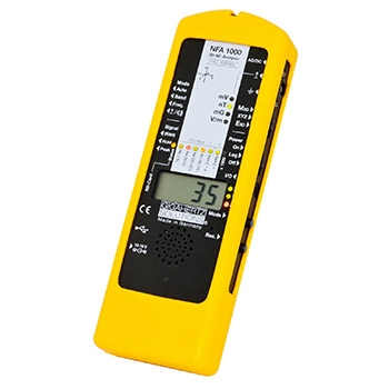 Gigahertz Solutions NFA1000 - Professional 3D Electric and Magnetic Field Analyzer and Data Logger